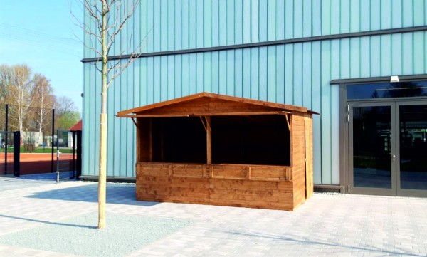 Markthütte 4,00m x 2,50m