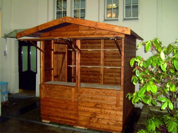 Verkaufsstand - Markthütte - 2,00m x 1,80m
