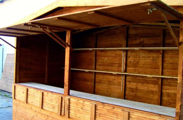 Markthütte 4,00m x 2,00m